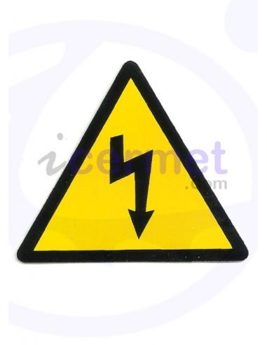 PEGATINA PELIGRO riesgo eléctrico